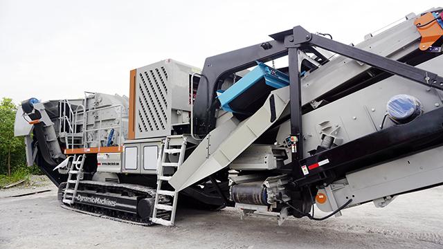 移动式时产150吨生产线